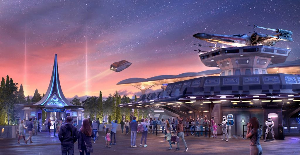 Star wars arrive bientôt à Disneyland Paris