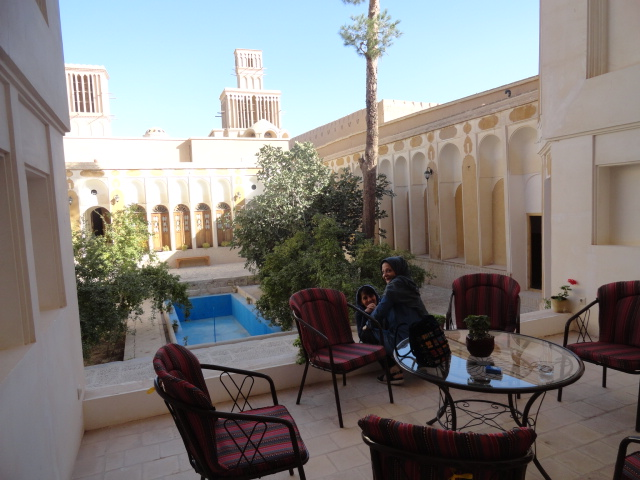 maison d'hôte à Yazd avec tour du vent