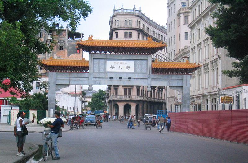 barrio chino à la Havane