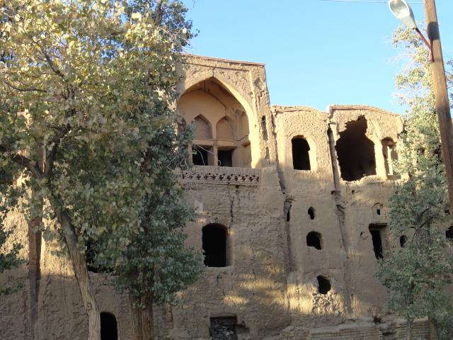 citadelle abandonnée en Iran