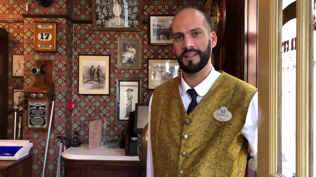 Le coiffeur du Dapper Dan's Hair Cuts Domenico Canzoneri