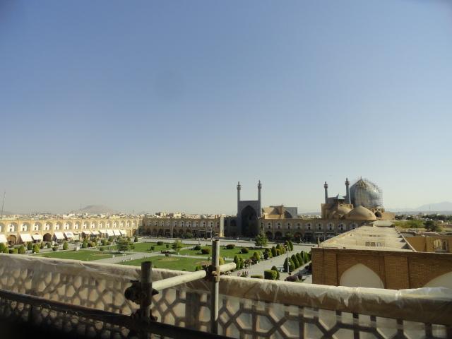Place royale à Ispahan