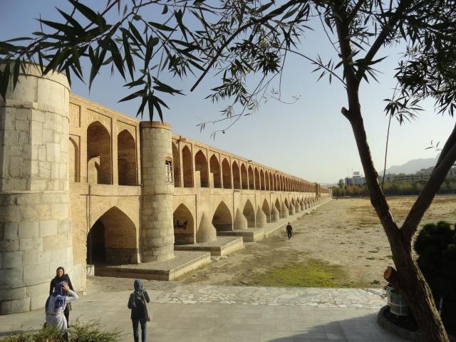 Pont aux 33 arches d'Ispahan