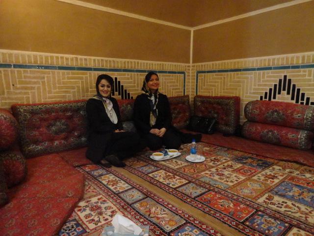 restaurant typique en Iran