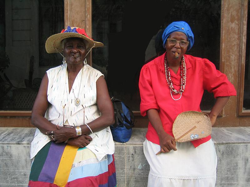 vieille dame à la Havane