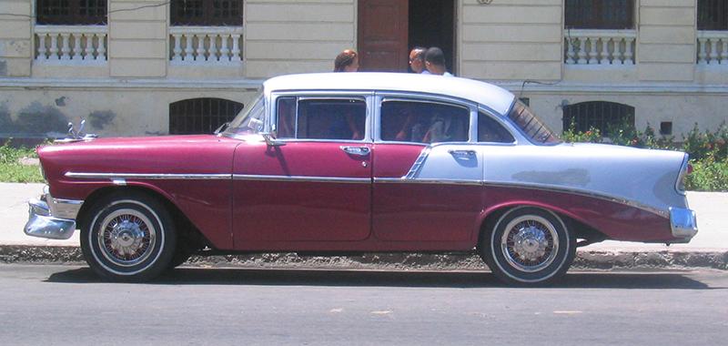voiture américaine vintage à la Havane