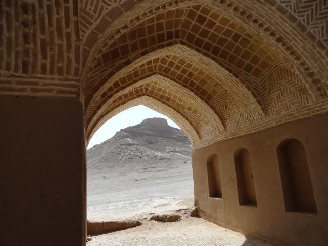 tour du silence zoroastrien