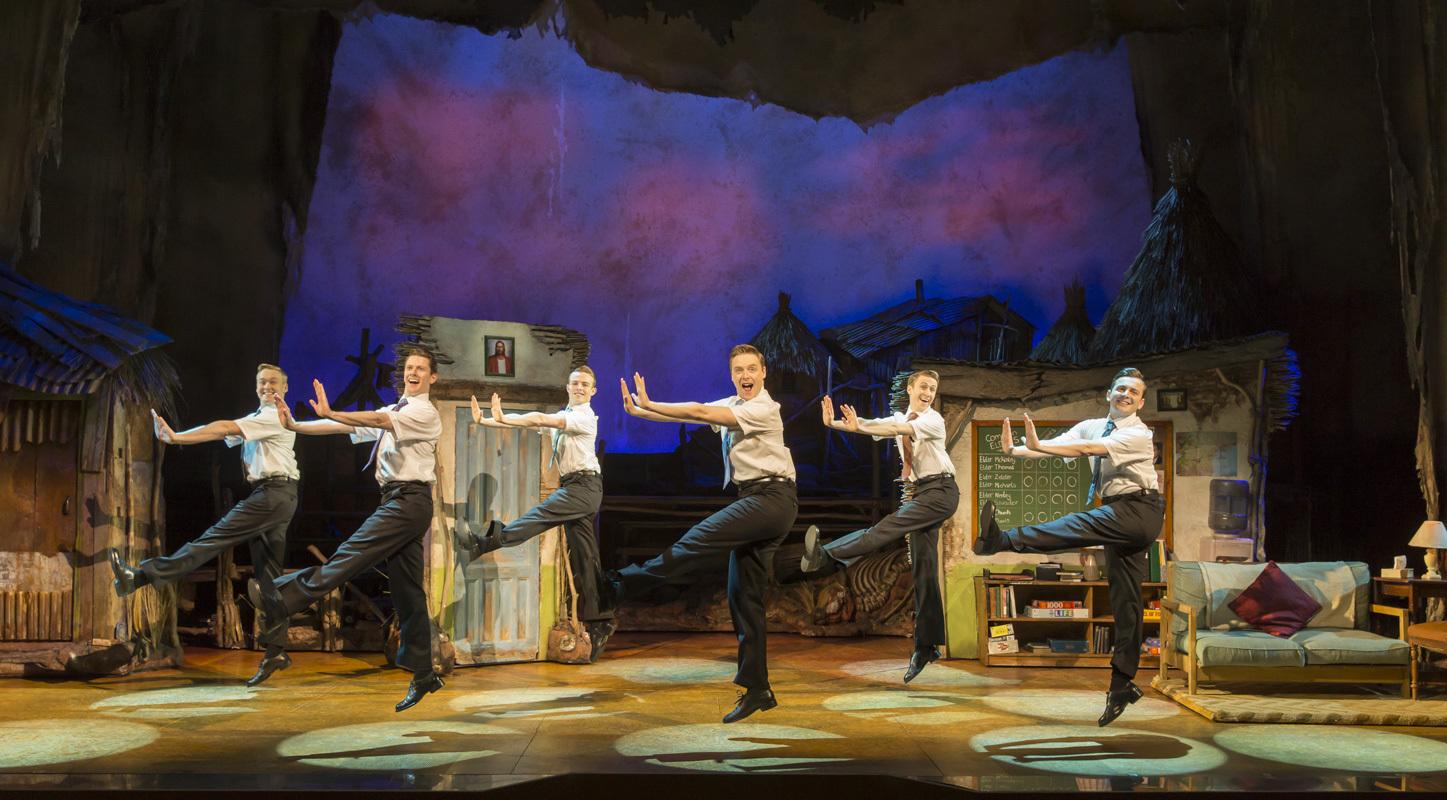 Le spectacle le livre de Mormon joué à Londres