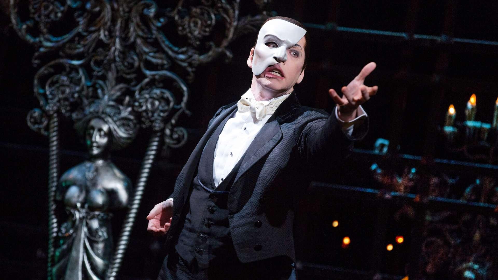 La comédie musicale du Fantôme de l'opéra à Londres