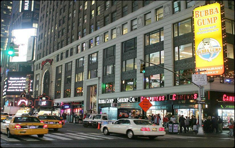 Bubba Gump à New-York