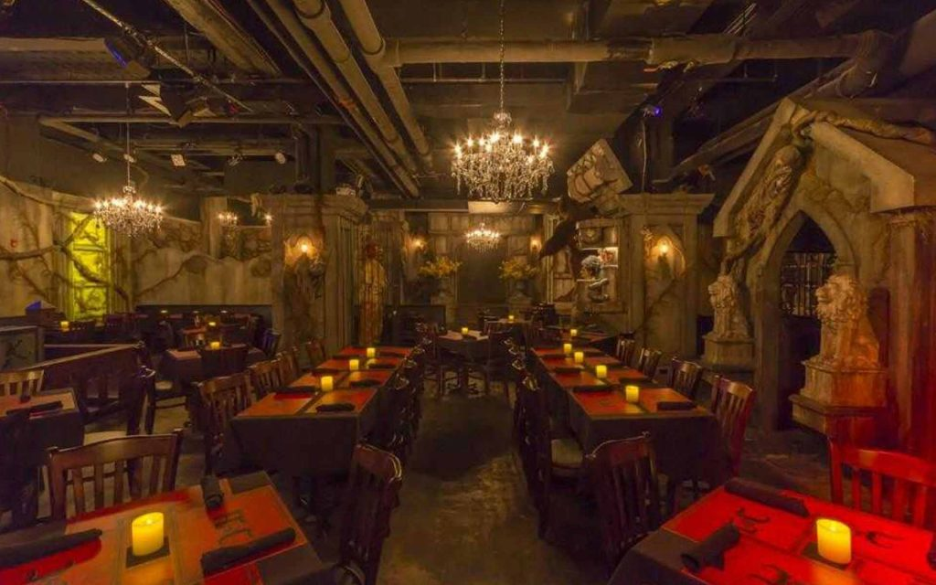 Le frissonant restaurant Jekyll and Hyde