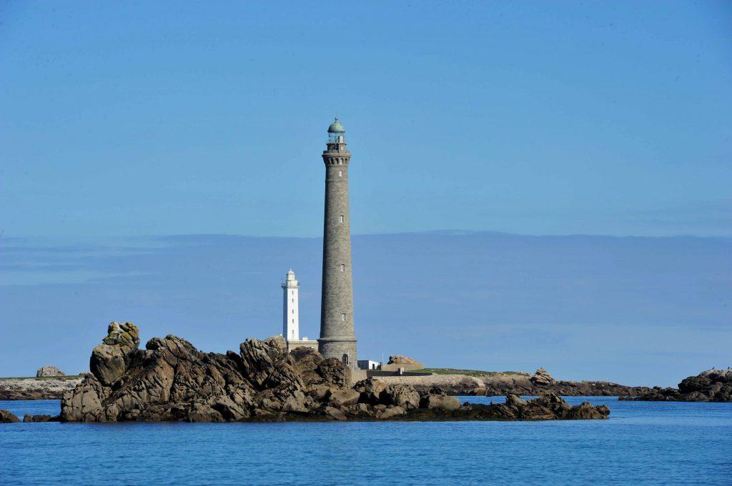 Les deux phares de l'île