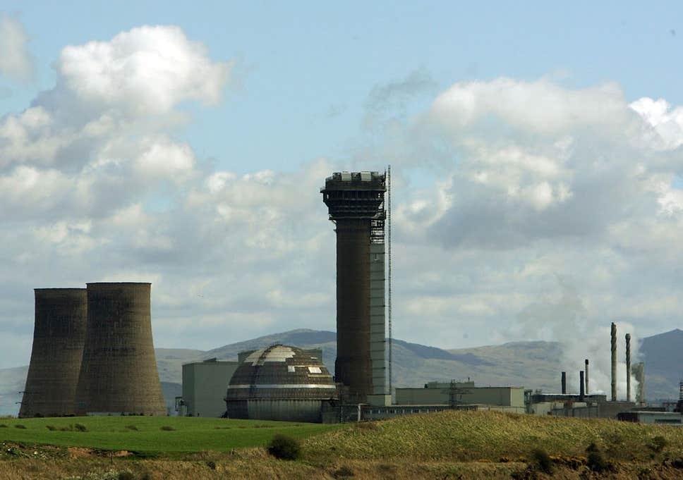 La centrale nucléaire de Sellafield au Royaume-Uni