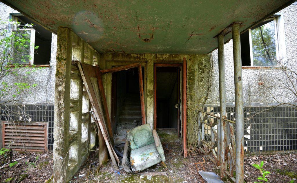 Tchernobyl ou du moins ce qu'il en reste
