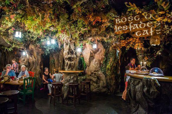 Le restaurant légendaire du Bosc de les Fades