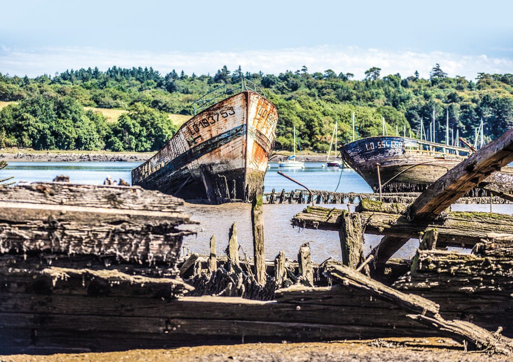 Les bateaux abandonnés de Lanester