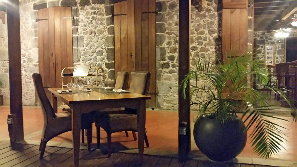 Restaurant Desmarets Guadeloupe