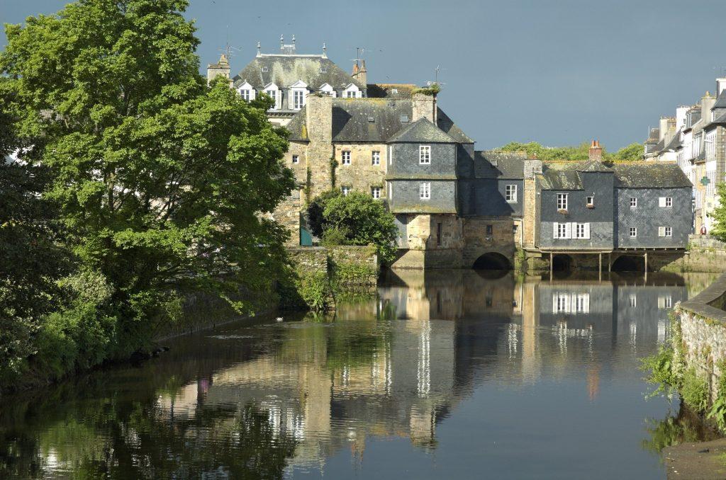 Les habitations du pont de Rohan