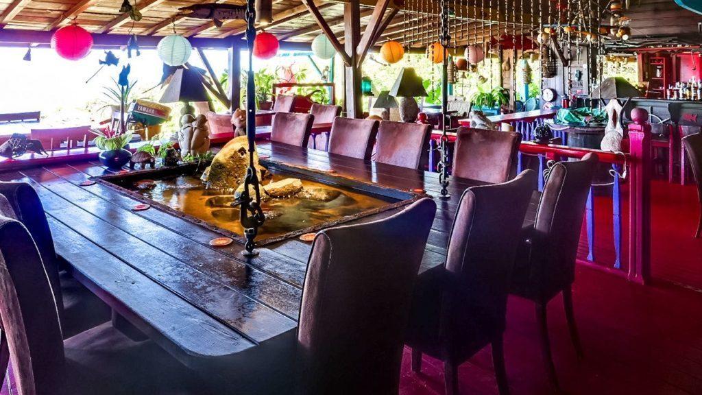 Le restaurant le Poisson Rouge Guadeloupe