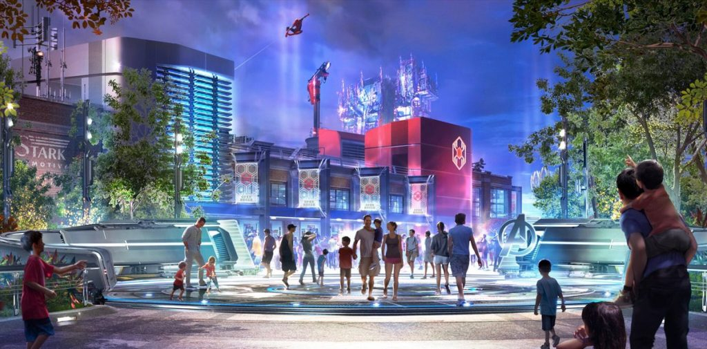 L'attraction Marvel bientôt à Disneyland Paris