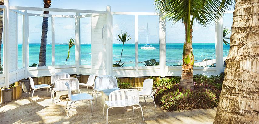 L'hôtel Tropical Attitude et sa sublime terrasse