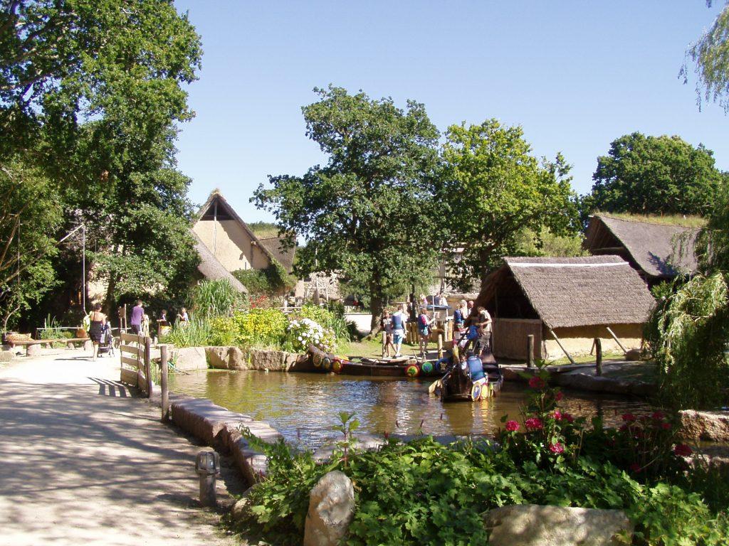 Aperçu du village gaulois