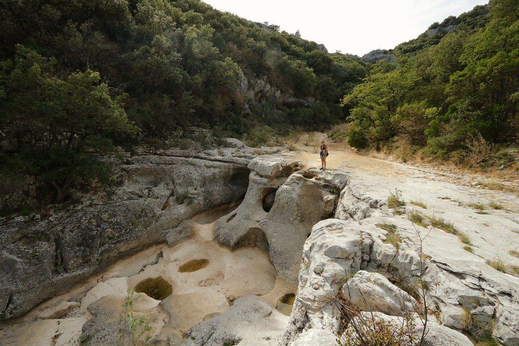 La rivière le Rieussec en Ardèche