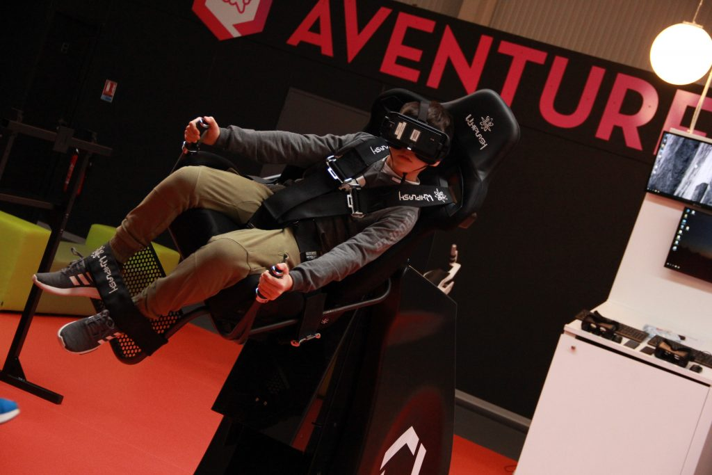 Au coeur de la réalité virtuelle avec l' Upside de Montpellier