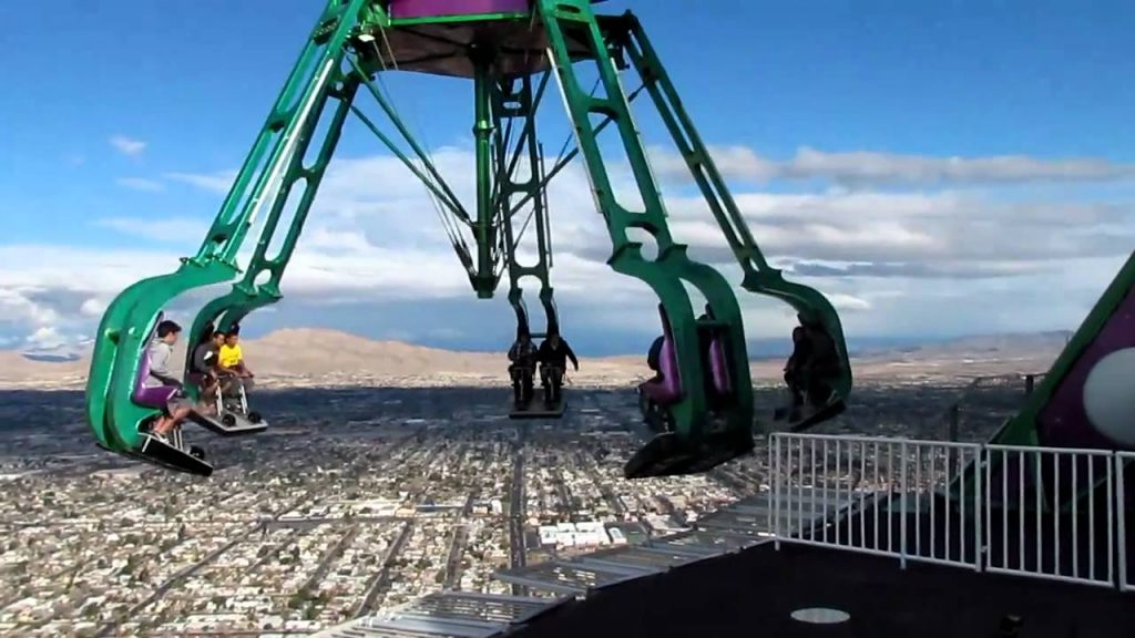 Le Stratosphère Insanity à Las Vegas