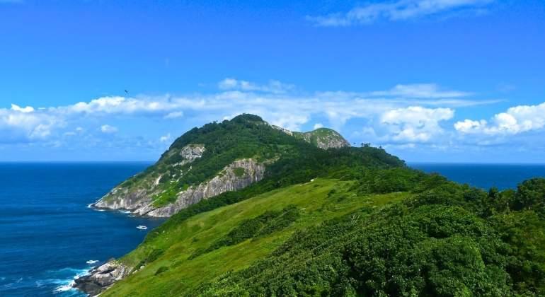 L'île Quemada baptisée l'île aux serpents