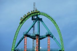 L'attraction le Kingda ka