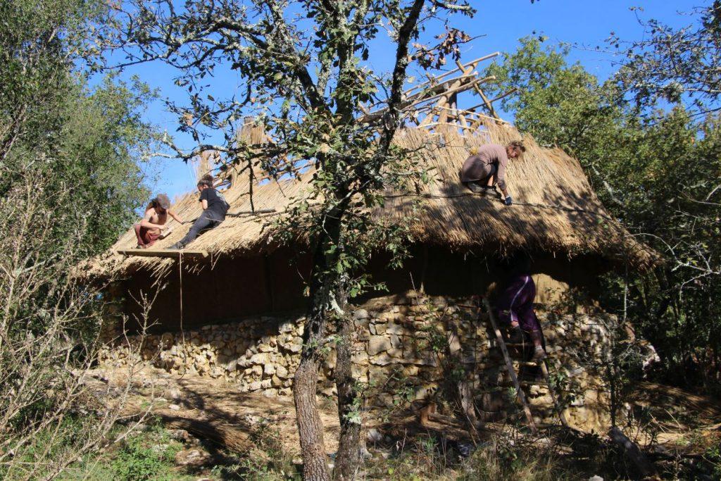 Le village Gaulois dans l'archéosite Randa Ardesca