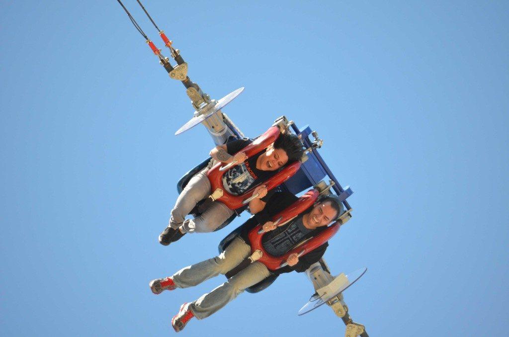 Le Slingshot au Cedar Point des Etats-Unis