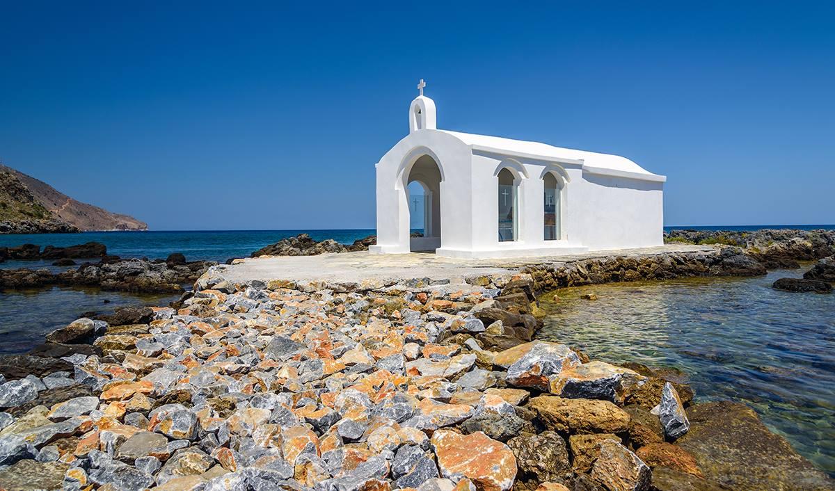plage de Georgioupolis en Crète