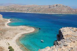 plage de Gramvoussa en Crète