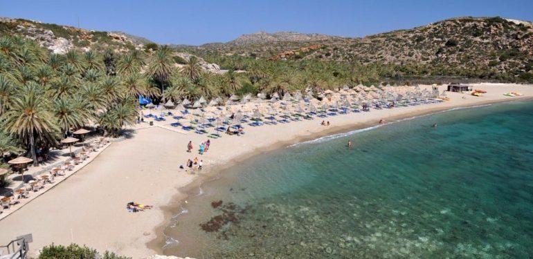 plage de vai en Crète