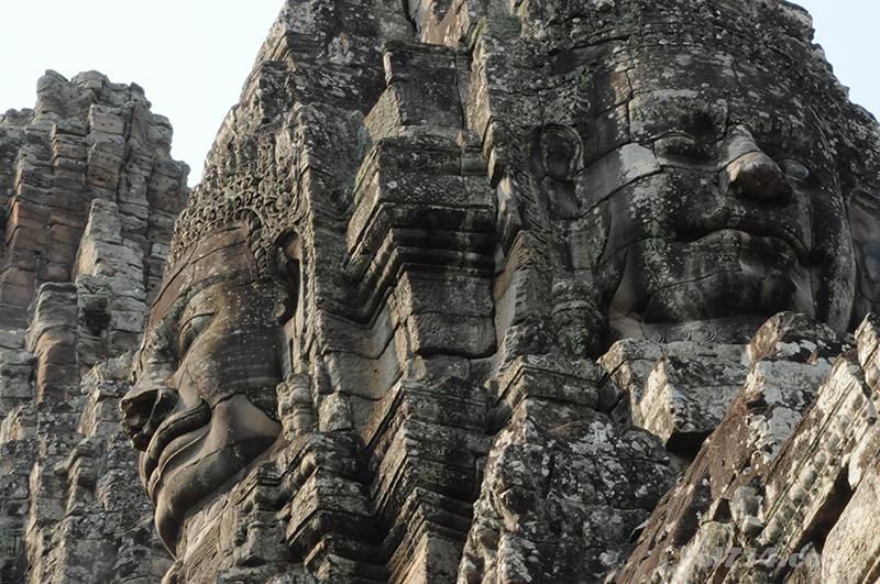 temple du Bayon à Angkor