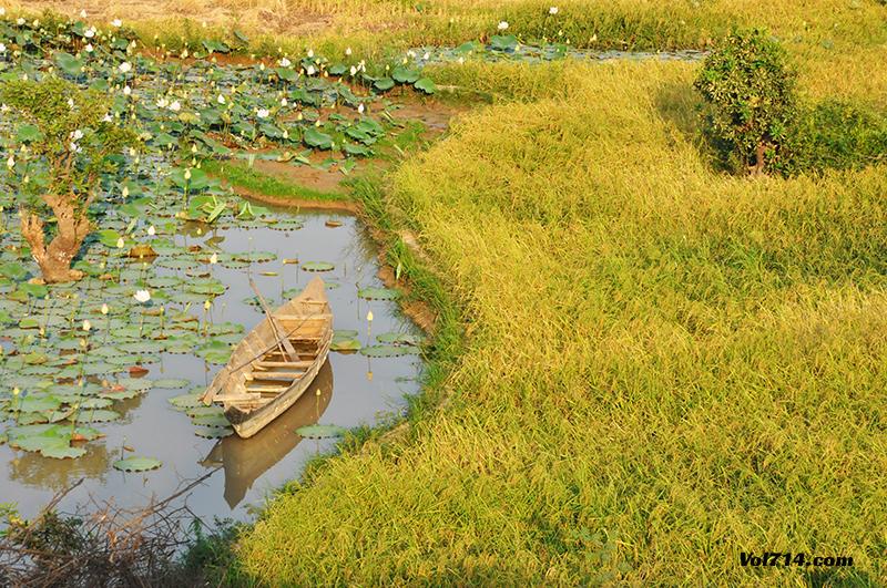 route de skun au Cambodge