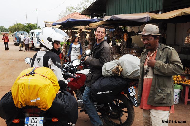 skun capitale de la mygale au Cambodge