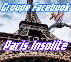 groupe Facebook Paris insolite