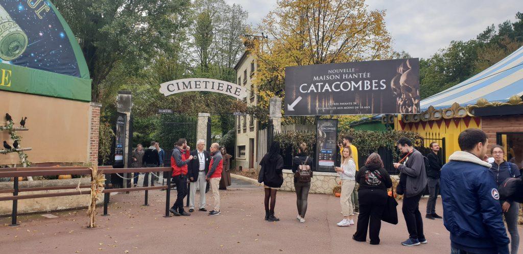 les catacombes parc asterix