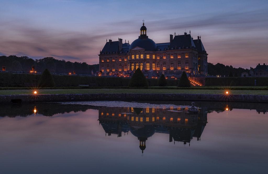 château vaux le vicomte chandelles