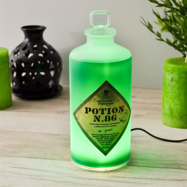 lampe potion magique Harry Potter