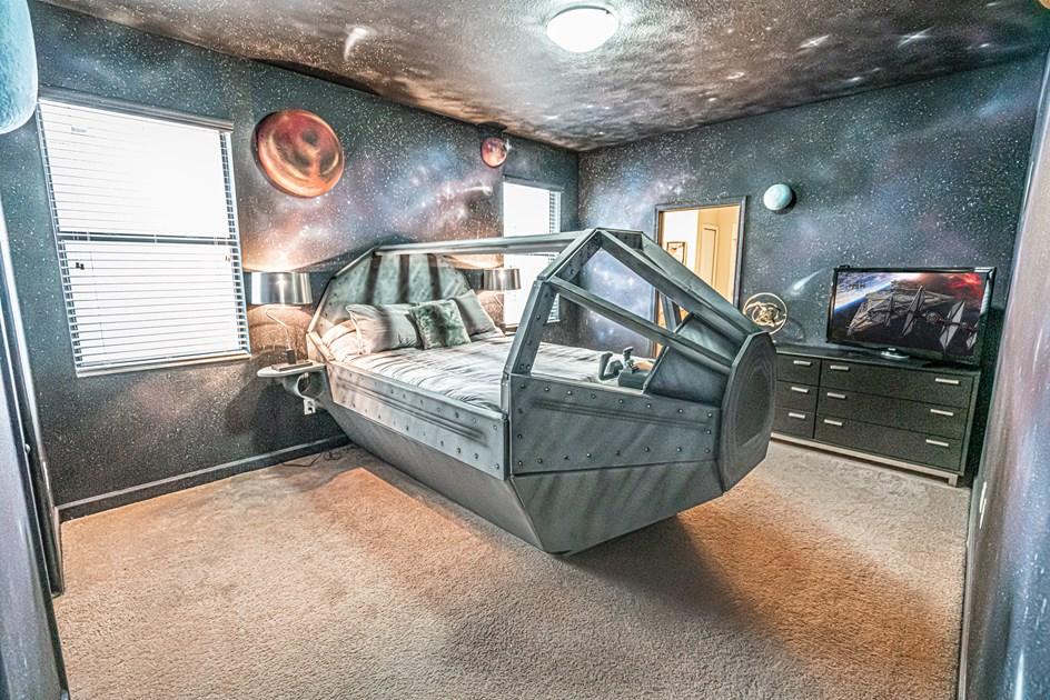 chambre faucon millenium star wars