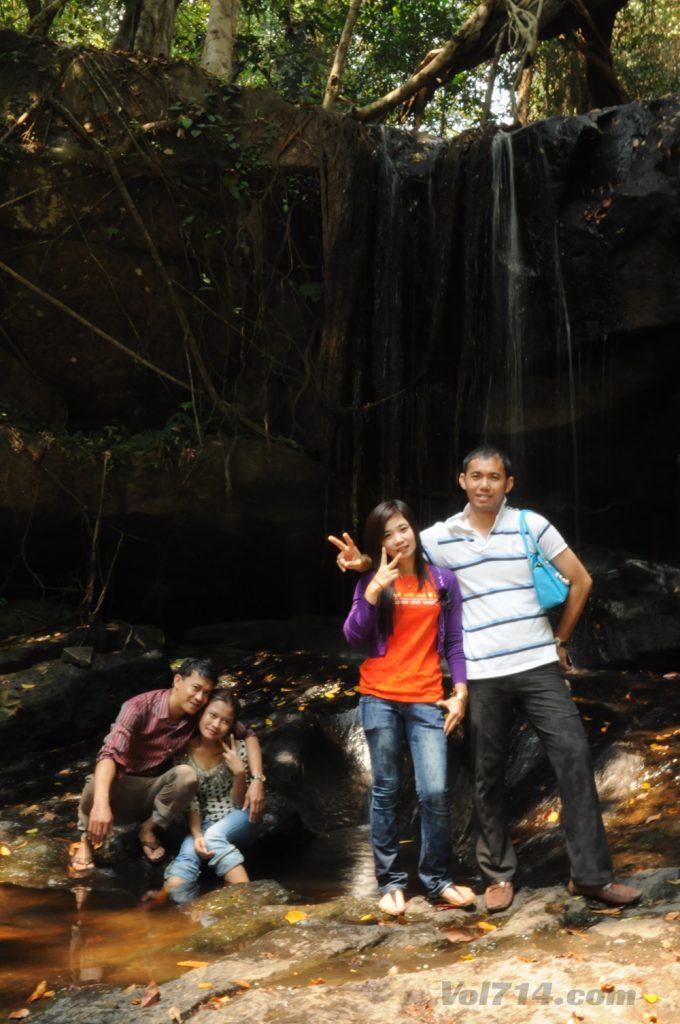Kbal Spean riviere 1000 lingas