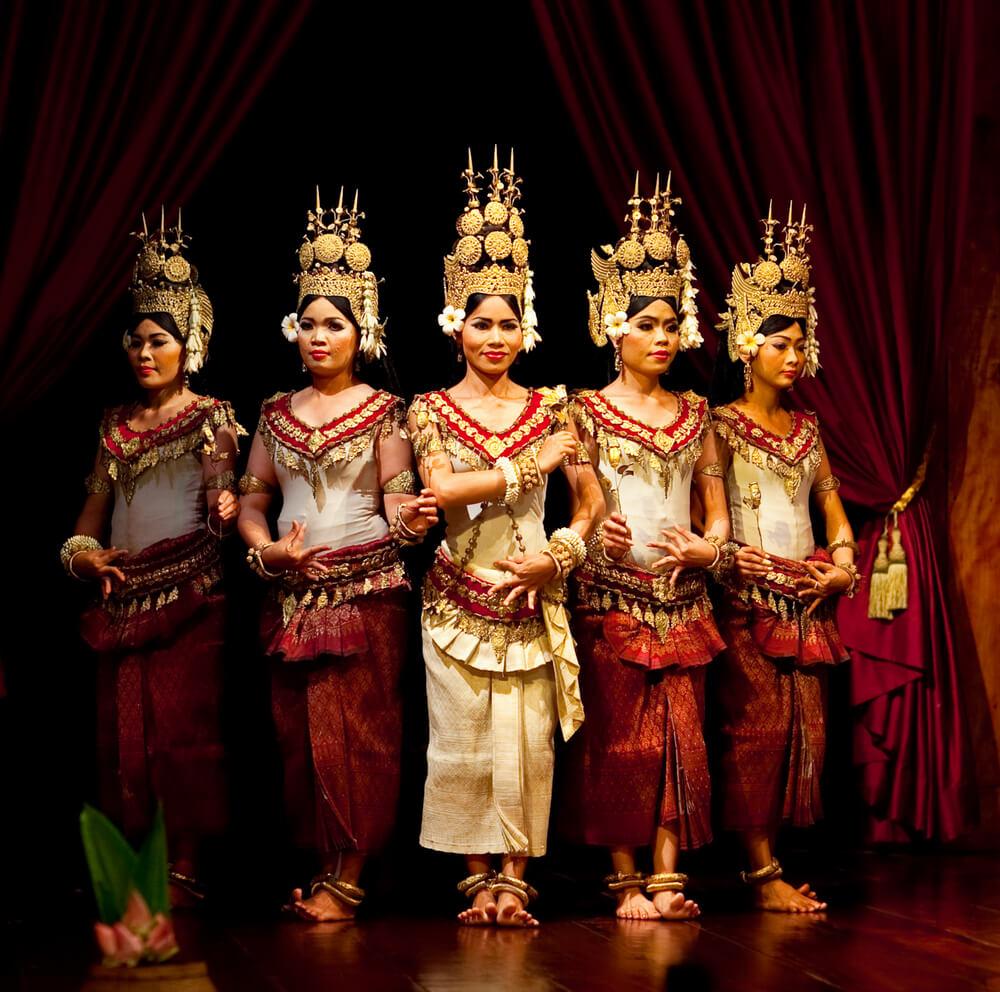 spectacle danse apsara angkor