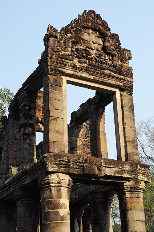 temple grec Preah Khan angkor
