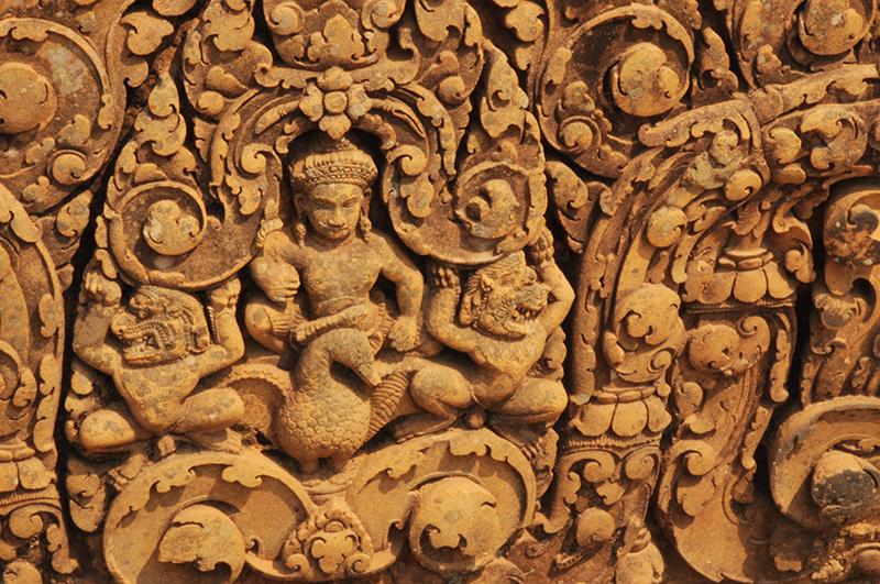 temple-rose-Banteay Srei-Angkor (22)