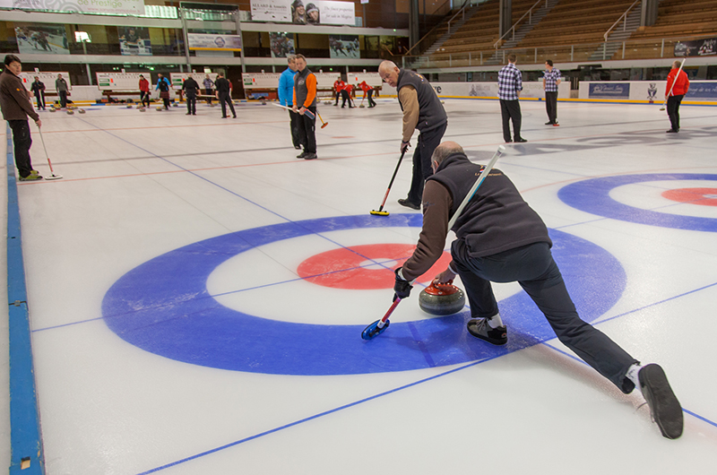 curling megeve