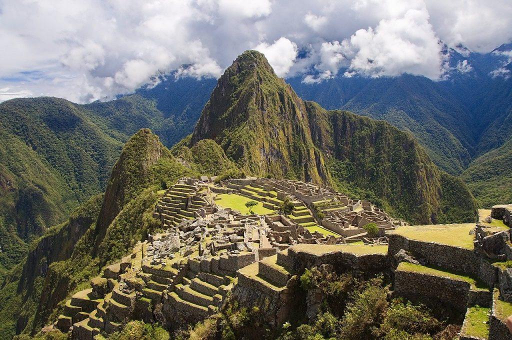 Machu Picchu vieux pic cité d'or